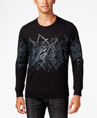 INC International Concepts Men's Graphic-Print Sweatshirt, Only at Vogily