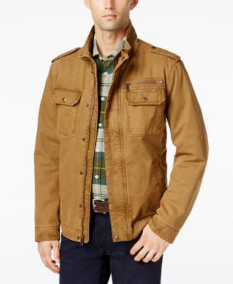 G.H. Bass & Co. Snap-Pocket Military Jacket