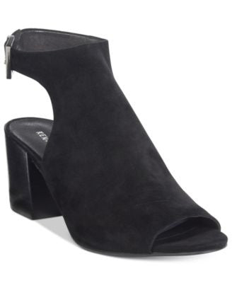 Kenneth Cole New York Women's Val Block-Heel Peep-Toe Booties