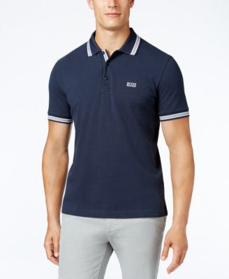 Hugo Boss Men's Green Paddy Polo