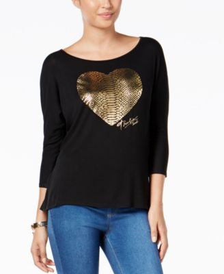 Thalia Sodi Graphic Dolman-Sleeve Top, Only at Vogily