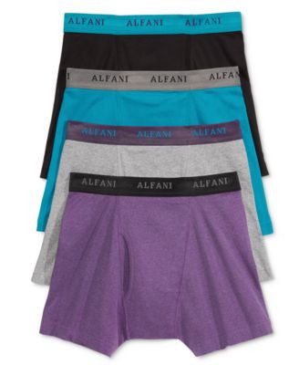 Alfani Men's 4 Pack. Boxer Briefs, Only at Vogily