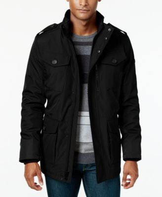 Calvin Klein Men's Four-Pocket Utility Jacket