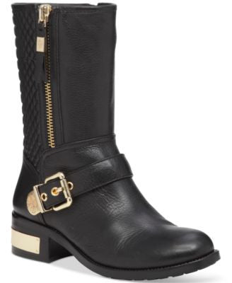 Vince Camuto Whynn Quilted Moto Booties