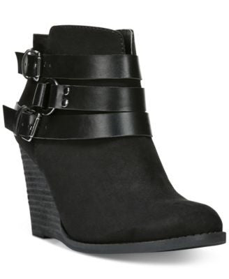 Carlos by Carlos Santana Cassedy Wedge Booties