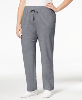 Karen Scott Plus Size Drawstring Lounge Pants, Only at Vogily