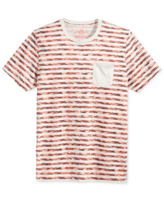 American Rag Men's Digi Stripe Pocket T-Shirt, Only at Vogily