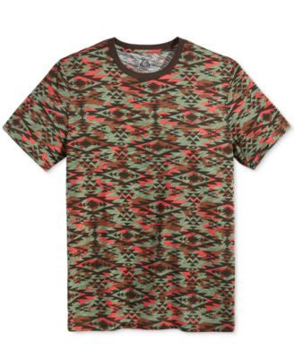 American Rag Men's Southwestern Camouflage-Print T-Shirt, Only at Vogily