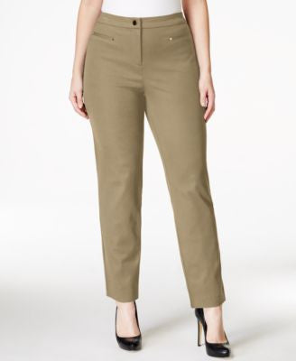 Charter Club Plus Size Ankle-Length Trousers, Only at Vogily