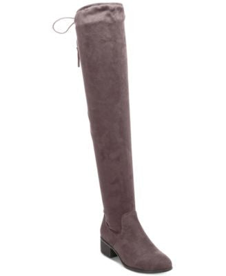 Madden Girl Prissley Over-The-Knee Tassel Stretch Boots