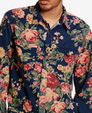 Denim & Supply Ralph Lauren Men's Floral Corduroy Cowboy Long-Sleeve Shirt