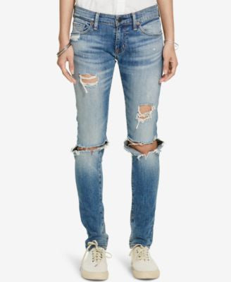Denim & Supply Ralph Lauren Distressed Skinny Jeans