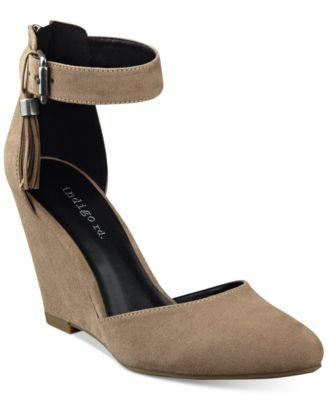 indigo rd. Earli Tassle Wedges