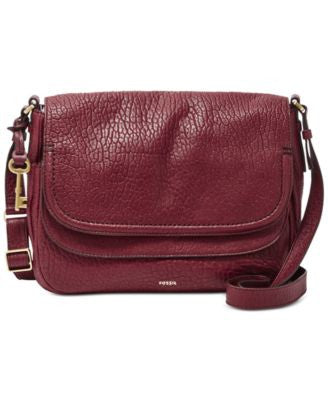 Fossil Peyton Large Double Flap Bag
