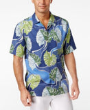 Tommy Bahama Men's Salsa Fronds Tropical-Print Silk Short-Sleeve Shirt