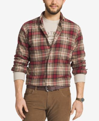 G.H. Bass & Co. Men's Fireside Plaid Flannel Long-Sleeve Shirt