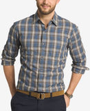 G.H. Bass & Co. Men's Trail Plaid Long-Sleeve Shirt