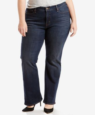 Levi's® Plus Size 415 Relaxed-Fit Bootcut Jeans