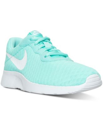 Nike Women's Tanjun SE Casual Sneakers from Finish Line