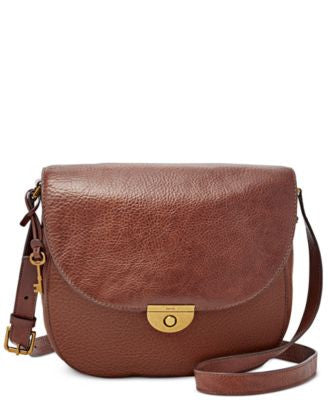 Fossil Emi Large Saddle Bag