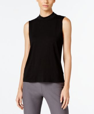 Eileen Fisher Mock-Neck Shell