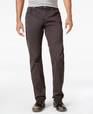 7 For All Mankind Men's Straight-Leg Sateen Jeans