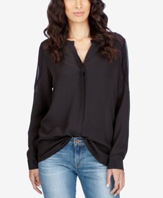 Lucky Brand Silk Shirt