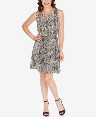 Lucky Brand Printed A-Line Dress