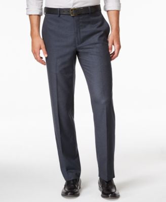 Lauren Ralph Lauren Men's Microfiber Classic-Fit Houndstooth Dress Pants