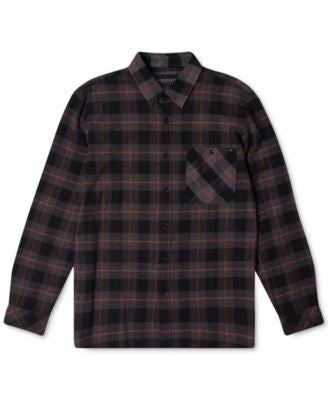 Rip Curl Men's Long-Sleeve Countdown Flannel Shirt