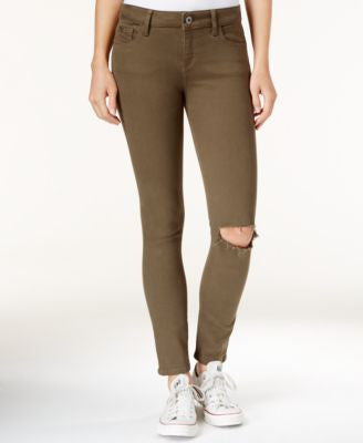 DL 1961 Margaux Ripped Basin Wash Skinny Jeans