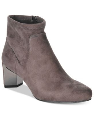 Nine West Falup Block-Heel Booties