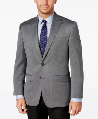 Lauren Ralph Lauren Men's Classic-Fit Gray Houndstooth Sport Coat