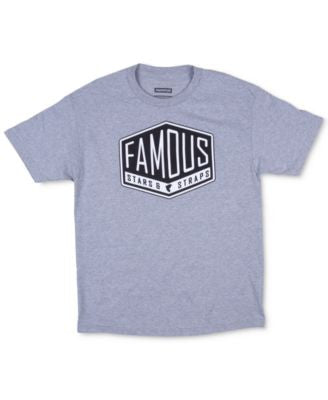 Famous Stars and Straps Men's Graphic-Print Logo T-Shirt