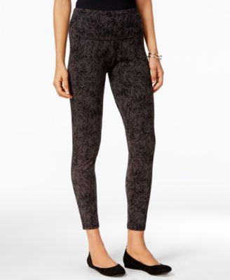 Style & Co. Printed Tummy-Control Leggings, Only at Vogily