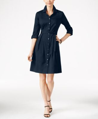 Charter Club Fit & Flare Shirtdress, Only at Vogily