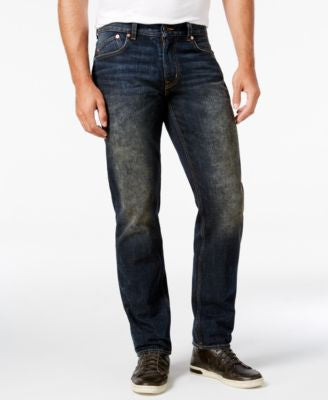 LRG Dark-Stained Indigo Jeans