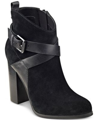 GUESS Women's Lora Suede Booties