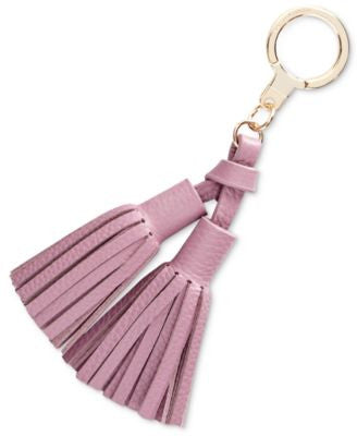 kate spade new york Double Leather Tassel Keychain