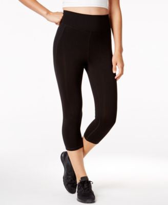 Ideology Slimming Flex-Stretch Cropped Leggings, Only at Vogily