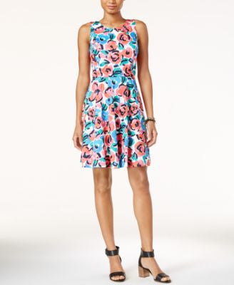 Tommy Hilfiger Peggy Floral-Print Sheath Dress