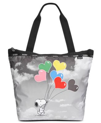 LeSportsac Peanuts Collection Hailey Tote