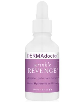 DERMAdoctor Wrinkle Revenge Ultimate Hyaluronic Serum, 1oz.