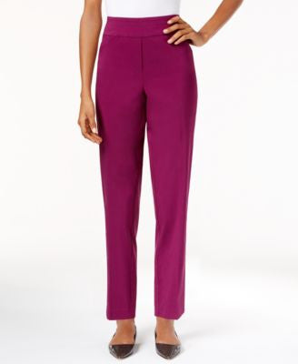 Alfred Dunner Petite Veneto Valley Slim Pants