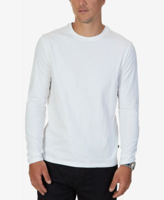 Nautica Men's Solid Long-Sleeve T-Shirt