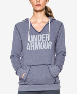 Under Armour Favorite Fleece Logo Pullover Hoodie