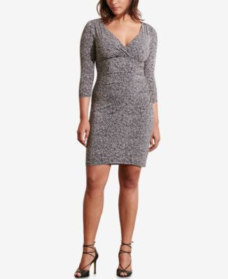 Lauren Ralph Lauren Plus Size Printed Jersey Dress