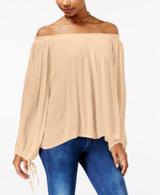 Jessica Simpson Abel Off-The-Shoulder Peasant Top