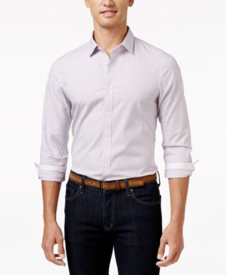 Michael Kors Men's Preston Long-Sleeve Shirt