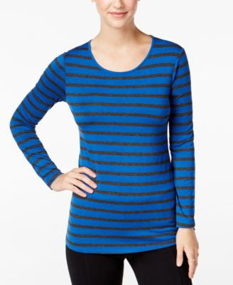 G.H. Bass & Co. Striped Long-Sleeve Top